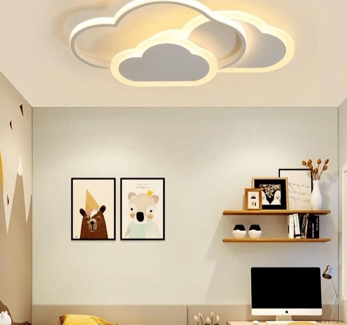 plafon-led-infantil-nubes
